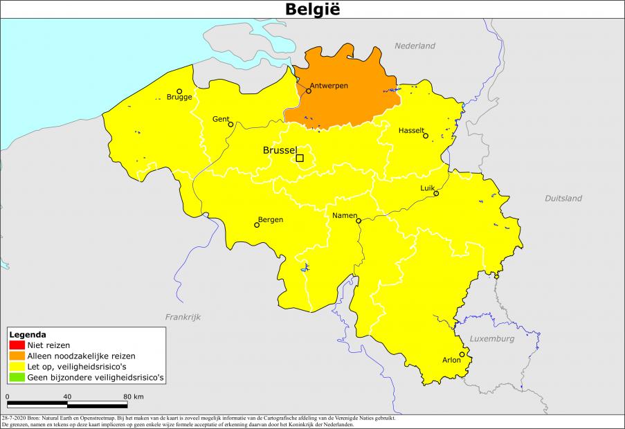 Niederlande Risikogebiet